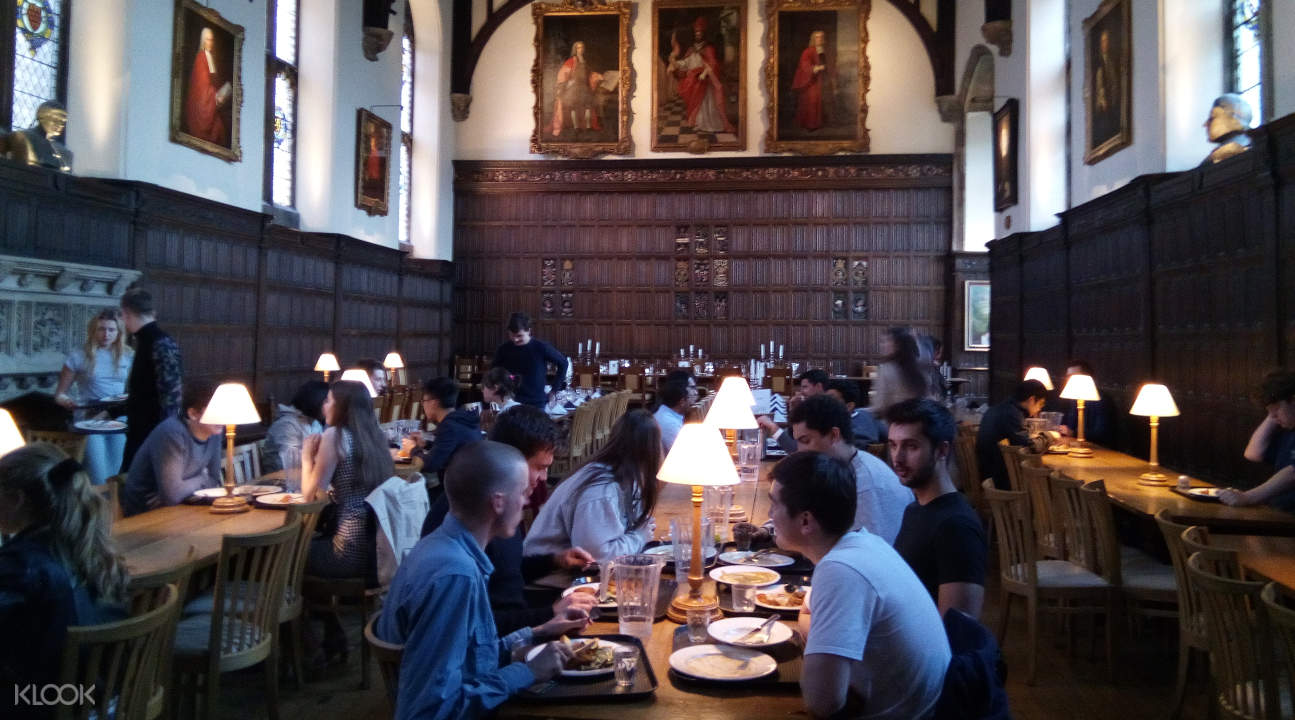 Magdalene College's dining hall