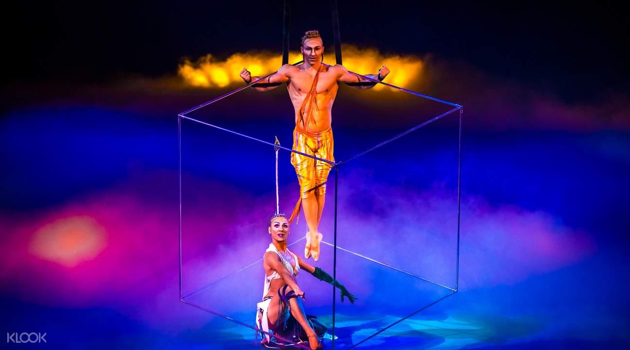 Mystere by cirque du soleil treasure island ticket