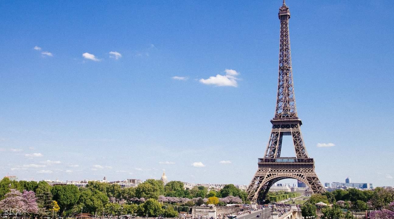 塞纳河,埃菲尔铁塔,观光巴士畅游巴黎