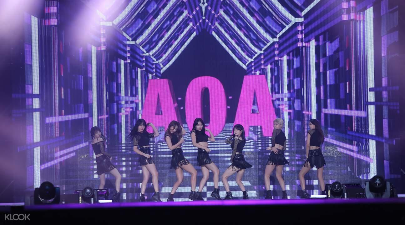 ink incheon k-pop concert ticket