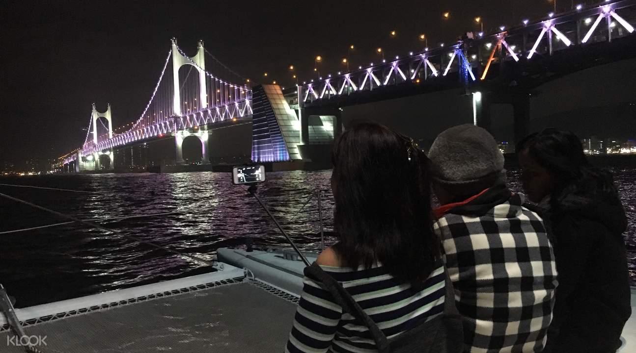 釜山 游艇