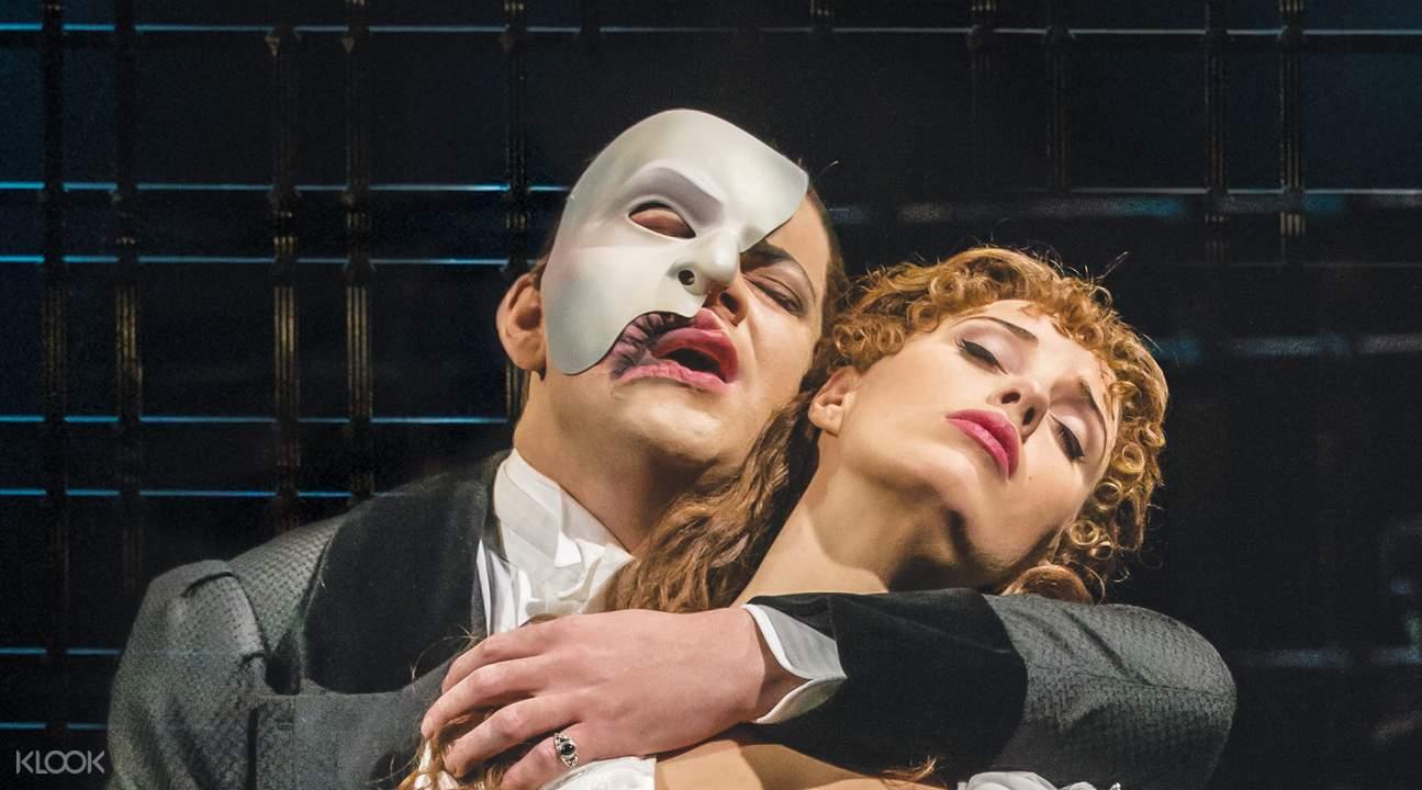 倫敦「歌劇魅影」
