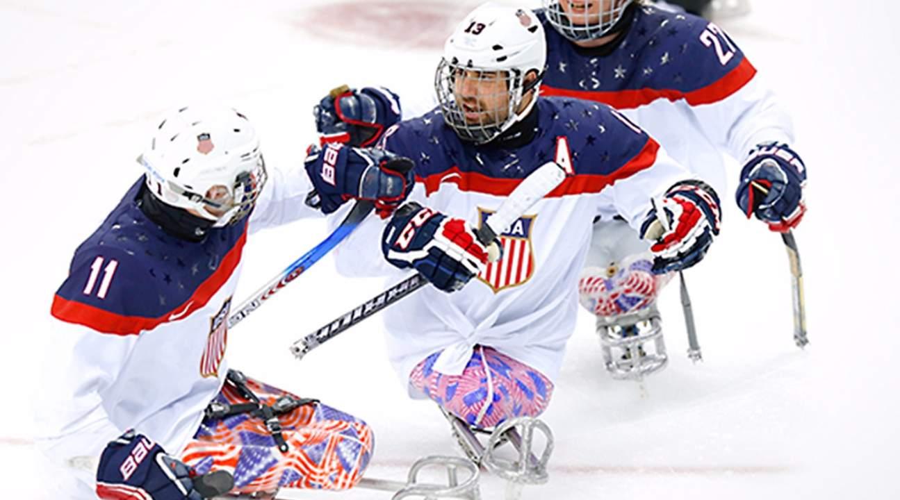 Paralympic ice hockey
