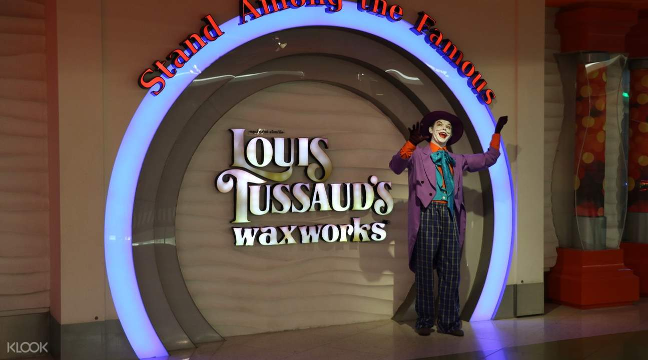 louis tussaud's waxworks pattaya