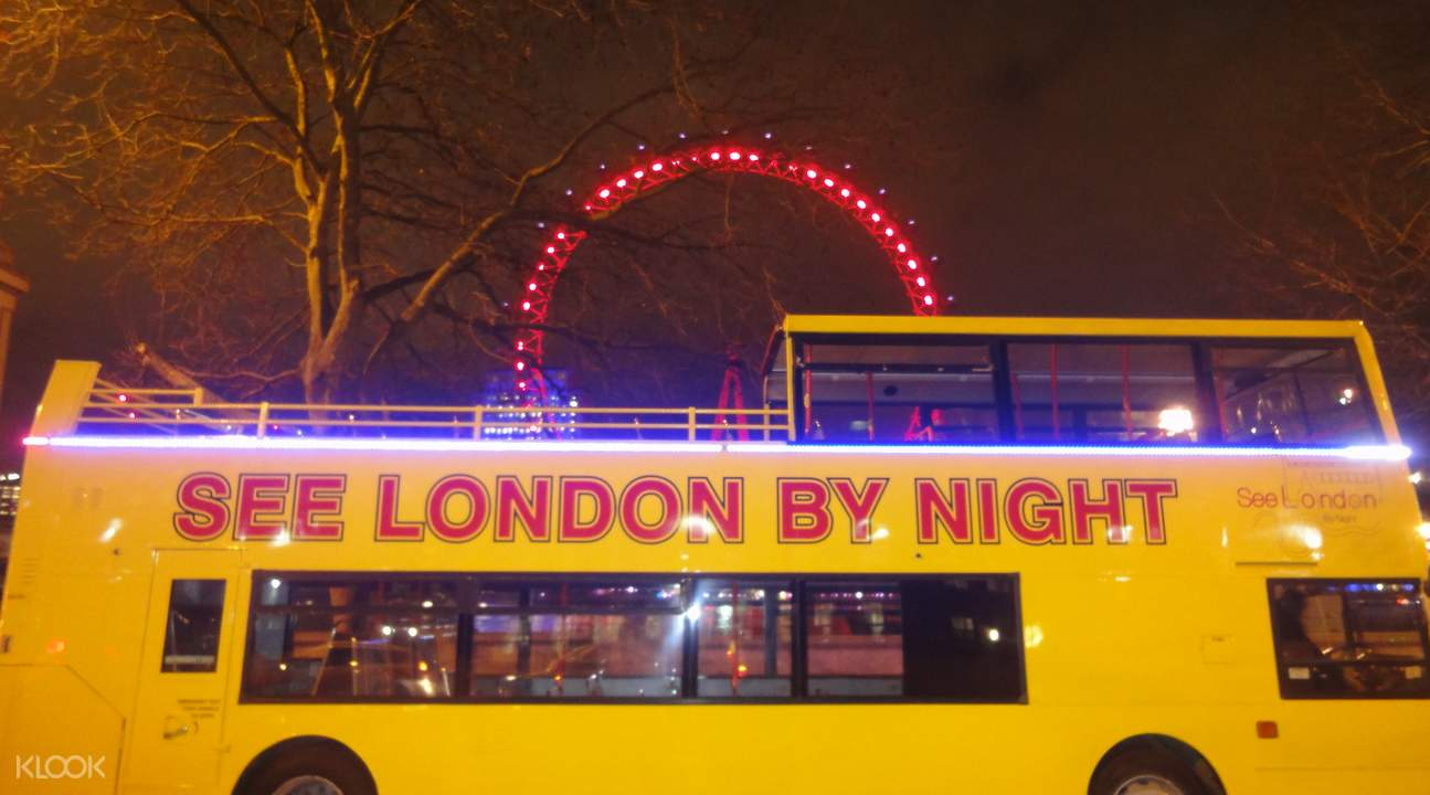 see london by night tour
