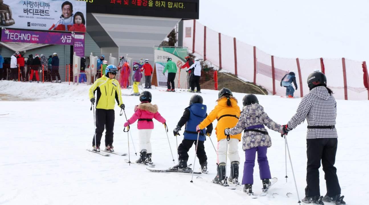 洪川大明Vivaldi Park滑雪一日游(Starway提供)