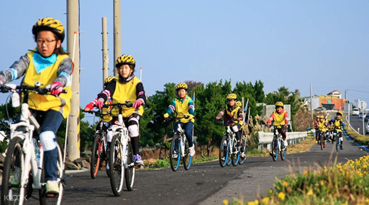 济州岛 自行车 环岛