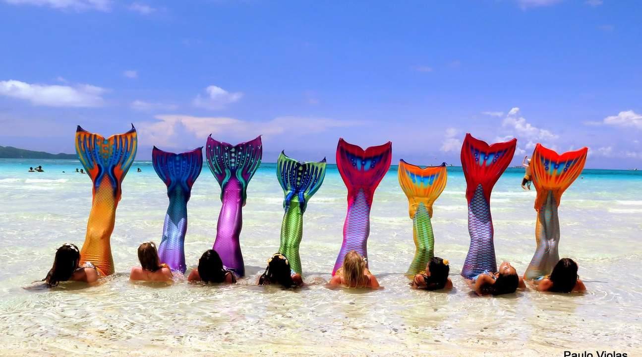 长滩岛美人鱼游泳课程