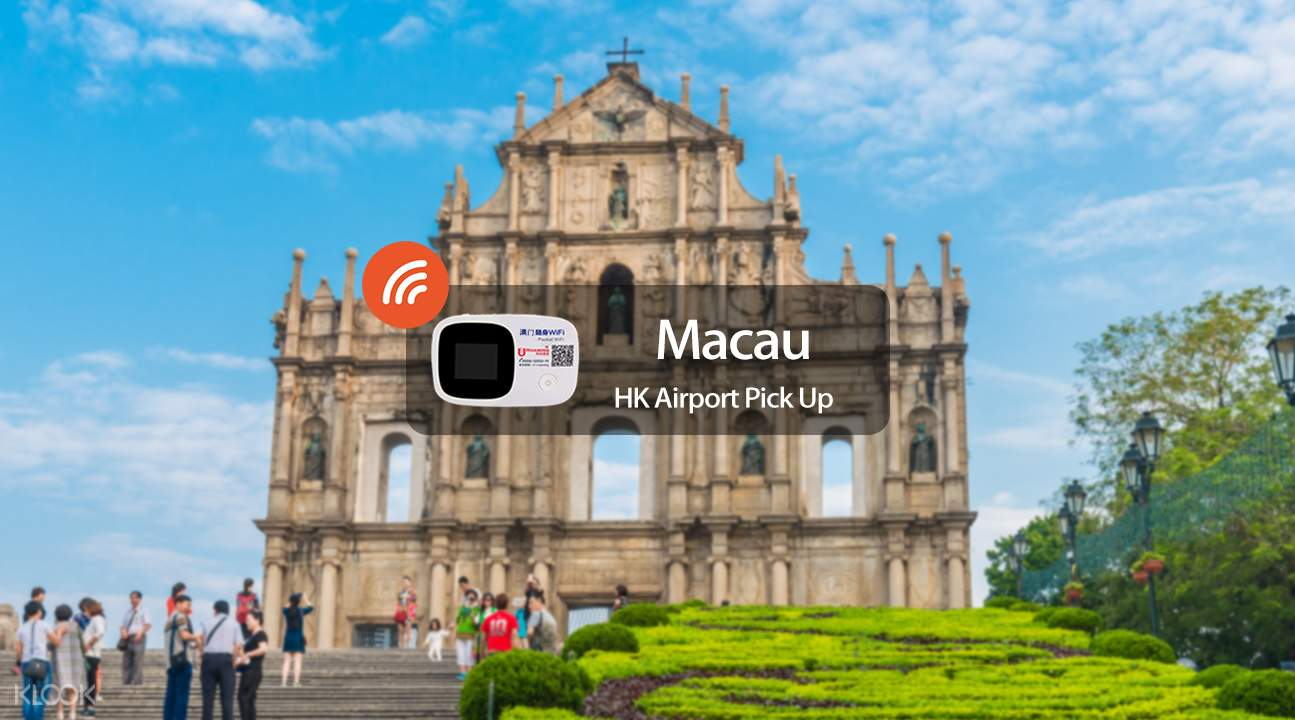4G WiFi (HKG Pick Up) for Macau