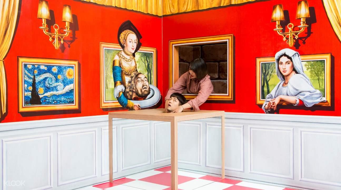 釜山特丽爱3D立体美术馆门票