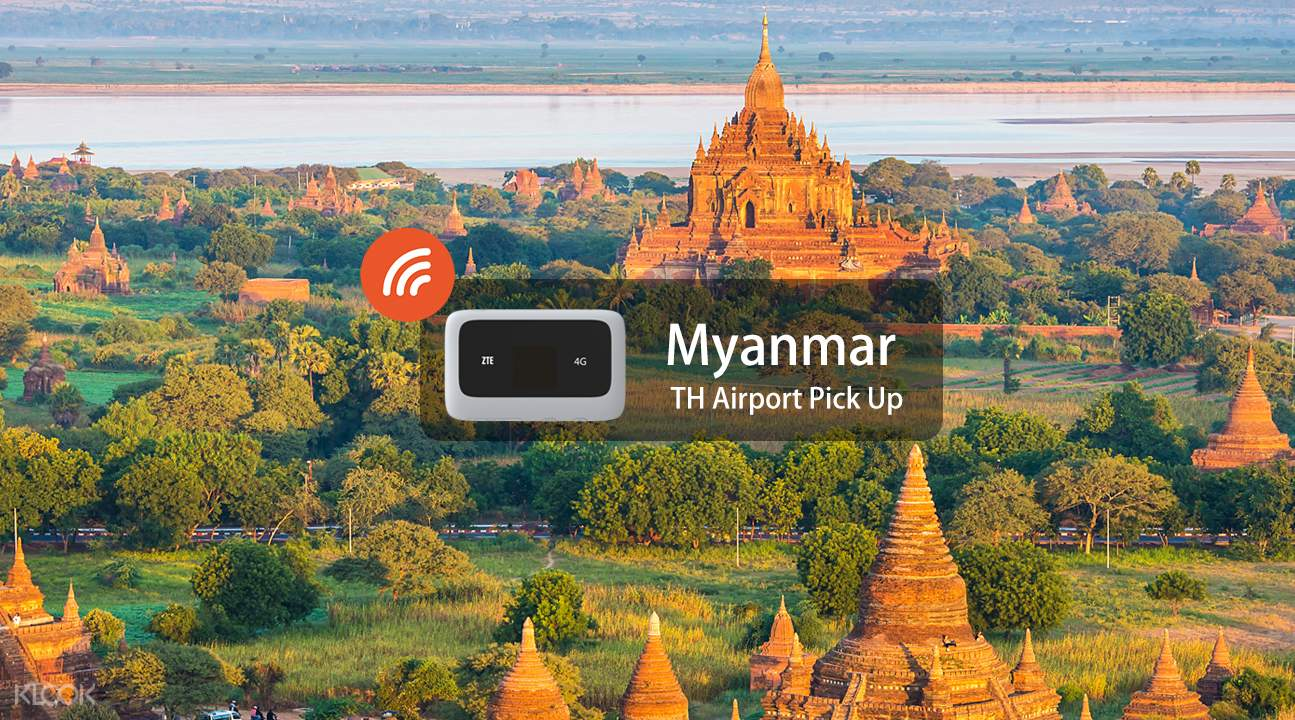 4G WiFi (TH Airport Pick Up) for Myanmar