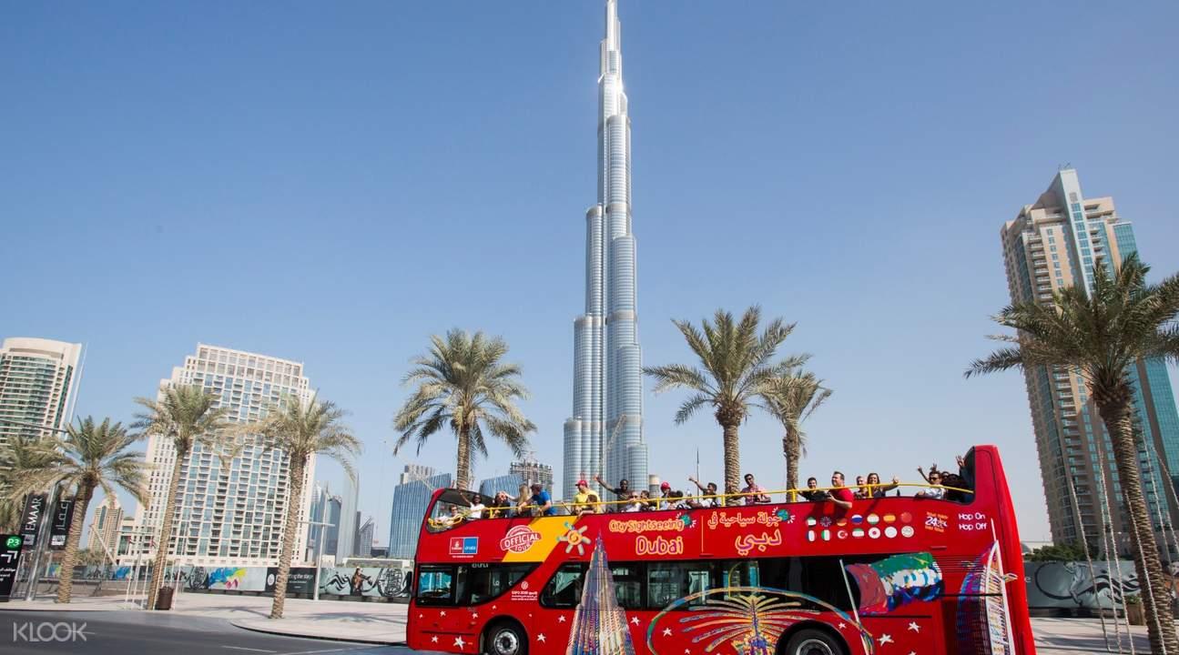 Dubai tourist bus