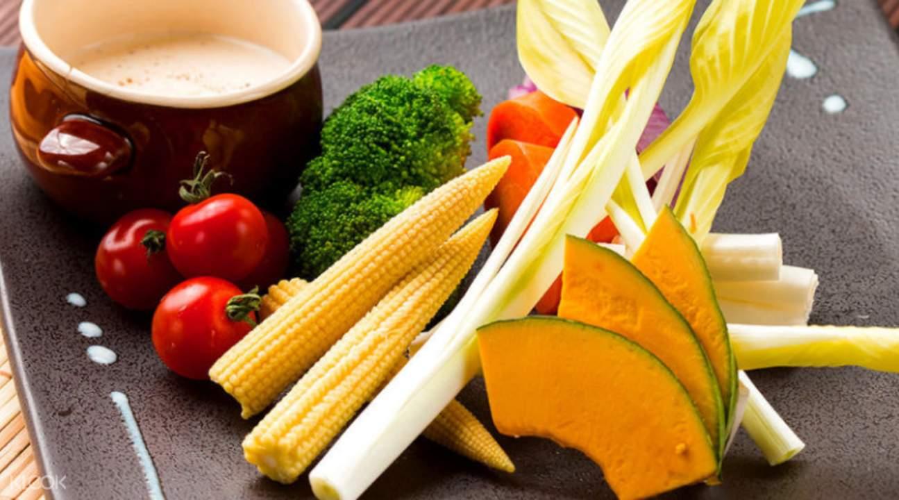 fresh ingredients kisaku shibuya tokyo japan