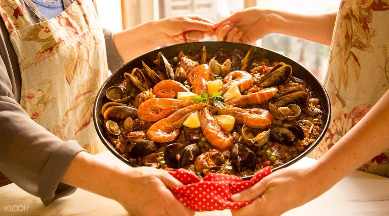 巴塞罗那家庭晚宴
