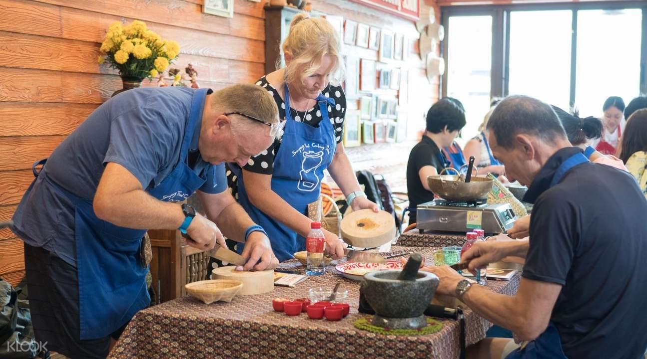 バンコク料理教室