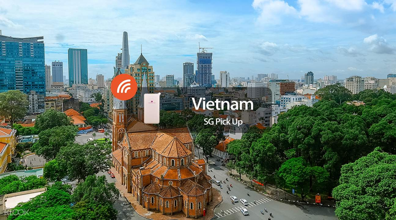 4G WiFi (SIN Pick Up) for Vietnam
