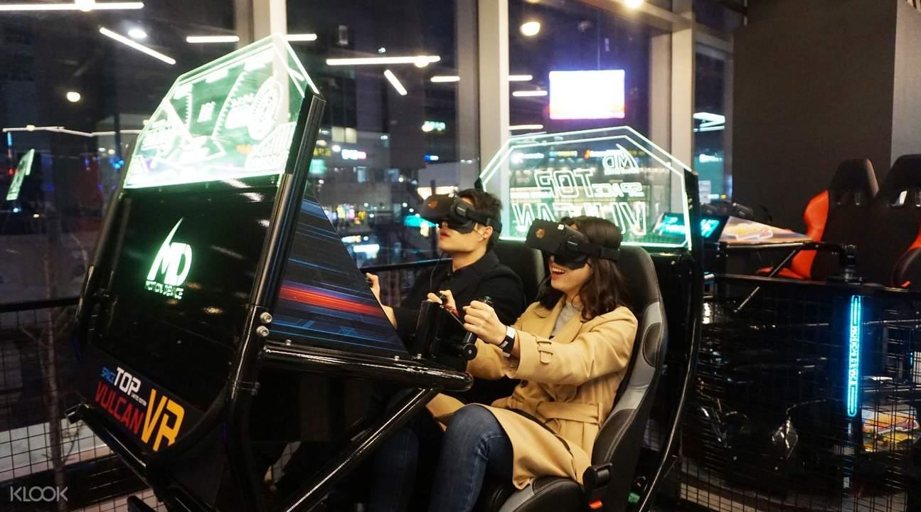 首尔弘大Hit VR虚拟体验馆