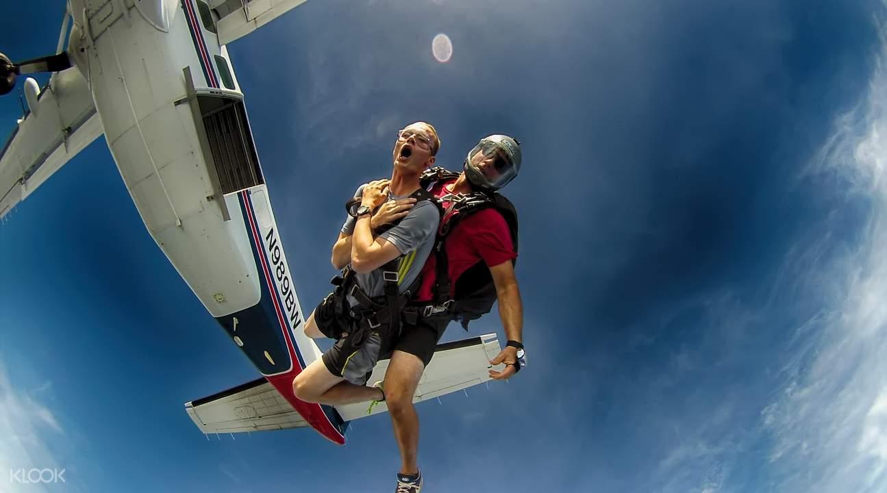 夏威夷歐胡島高空跳傘
