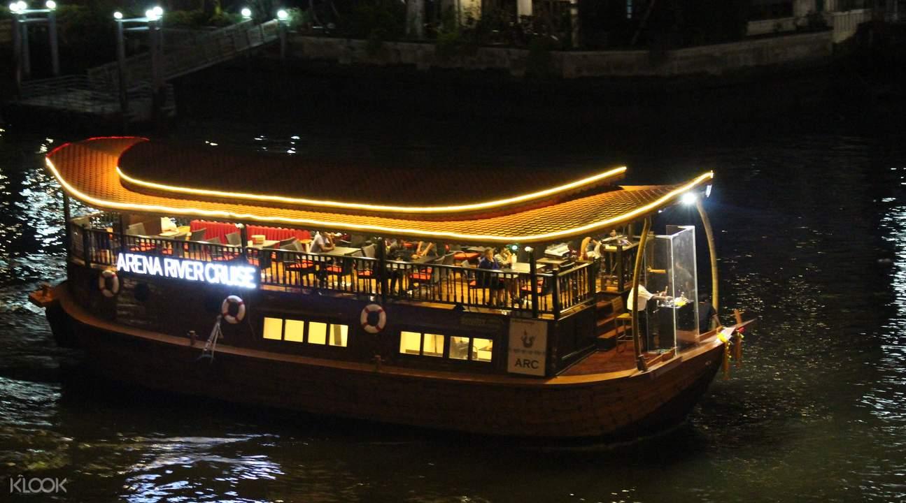 泰国曼谷 夜游湄南河(含游轮船票+自助晚餐)