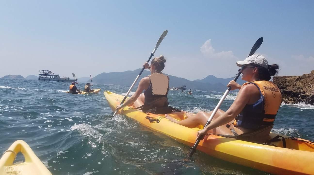 Running HK 2018 kayaking
