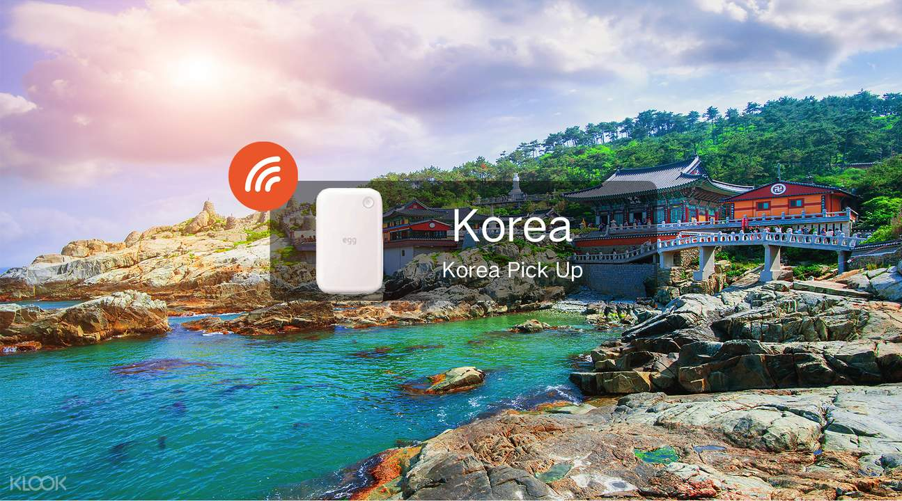4G WiFi (KR Airport Pick Up) for South Korea