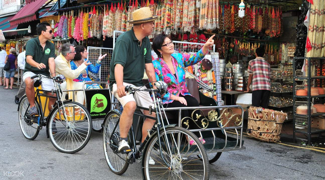 klook exclusive trishaw tour