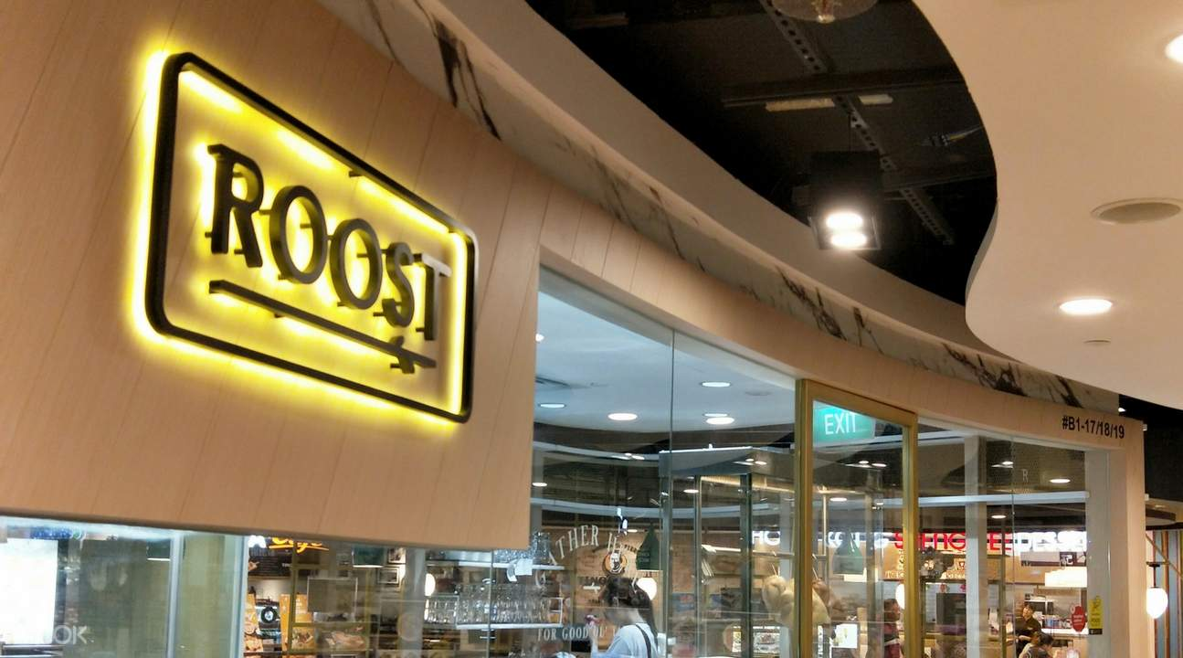 roost orchard road singapore