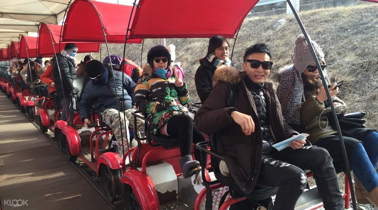 江村铁道自行车体验