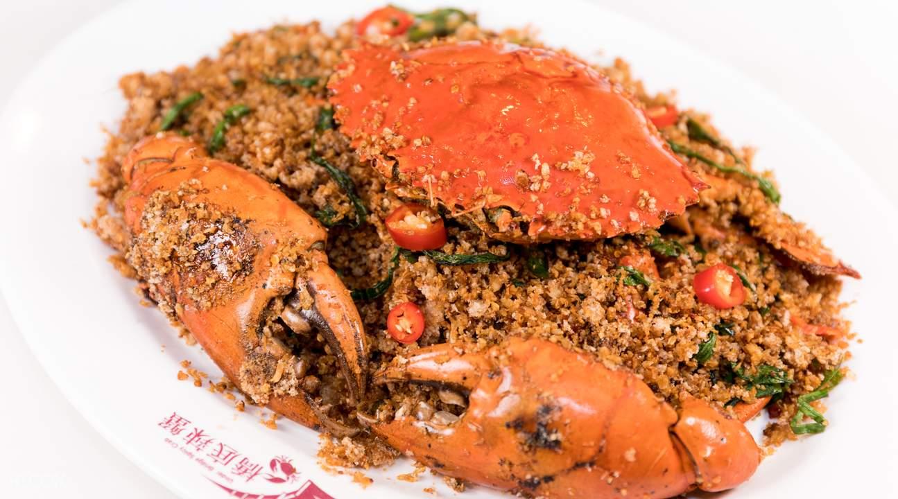 香港 铜锣湾 桥底辣蟹