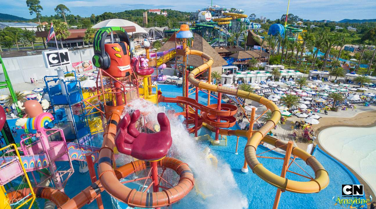 cartoon network water park thailand