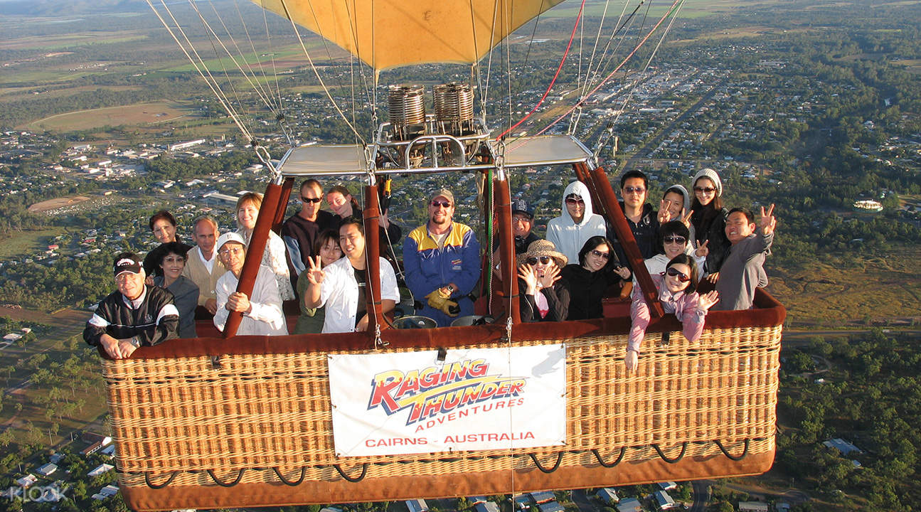 Cairns Hot Air Balloon Flight