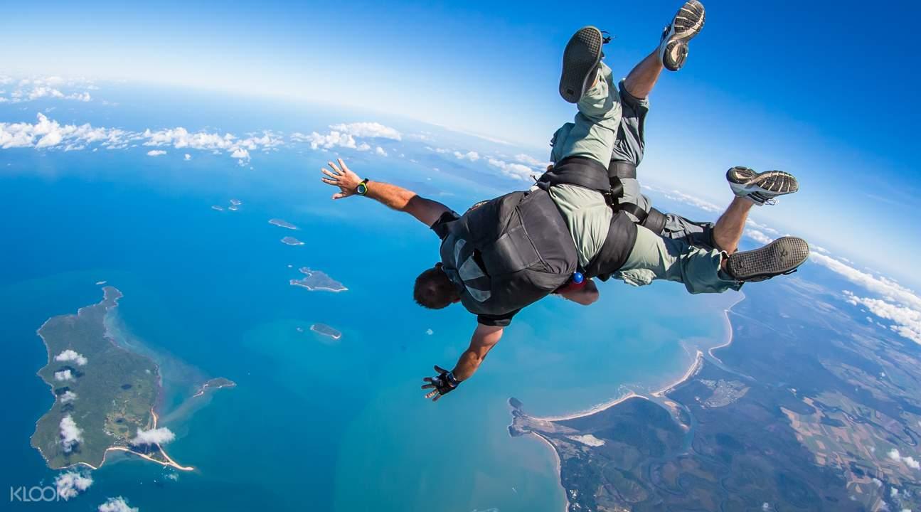 任务沙滩跳伞