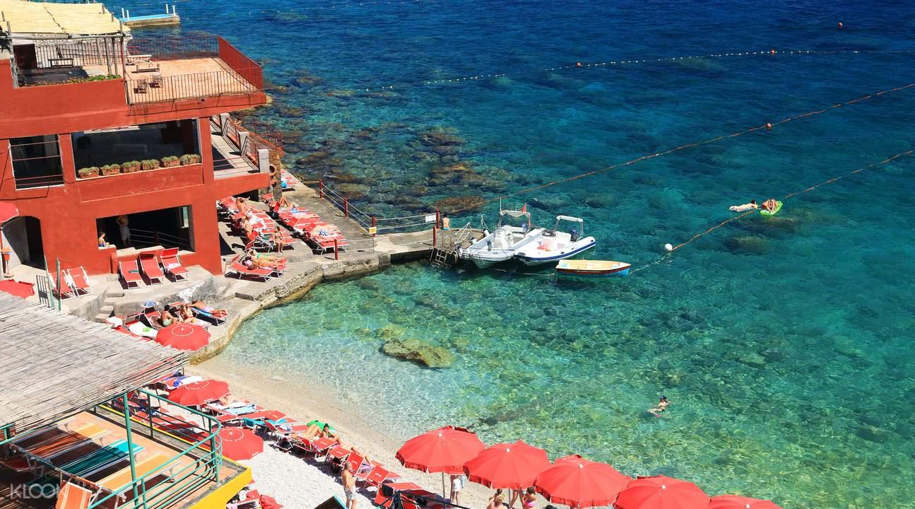 capri island hydrofoil