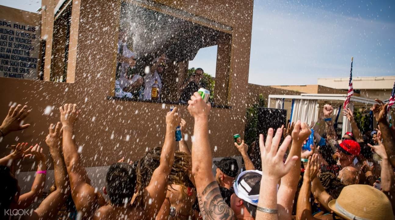 Vegas Rockstar Pool Party Tour