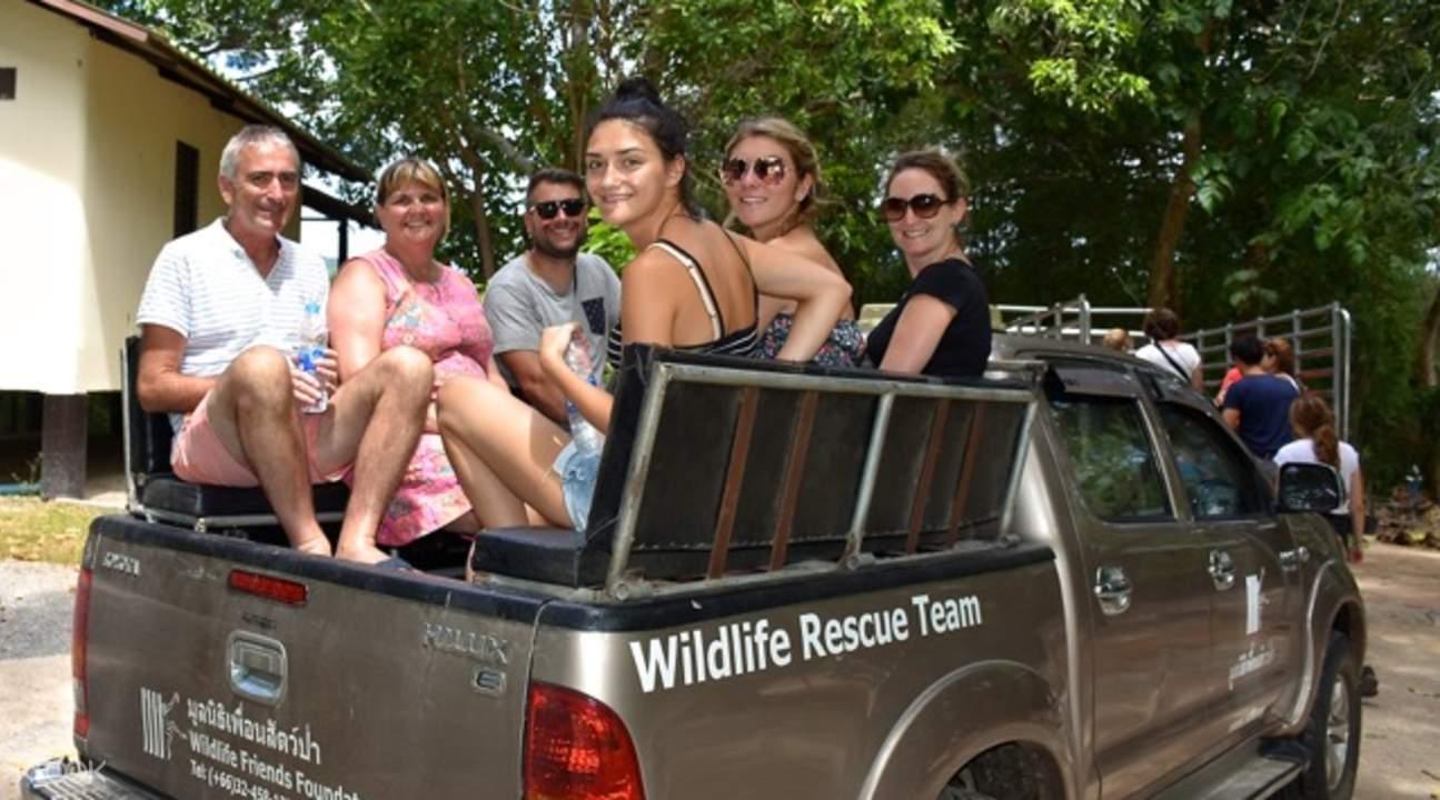 野生動物之友基金會大象看護體驗
