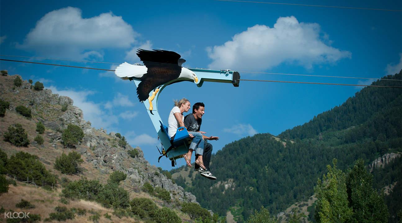 飛躍阿卡卡瀑布:希洛高空滑索