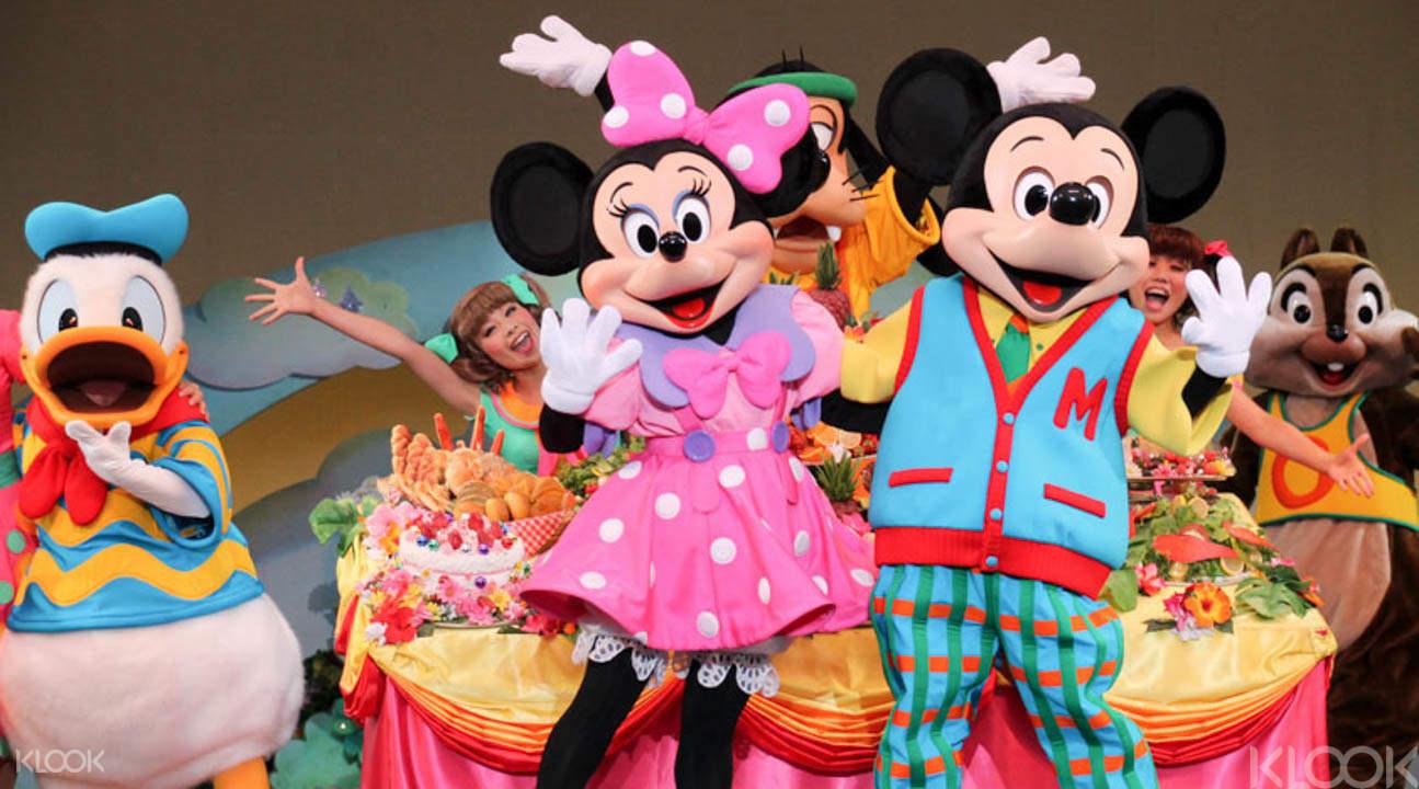 東京迪士尼樂園一日券實體門票台北國際旅展領取