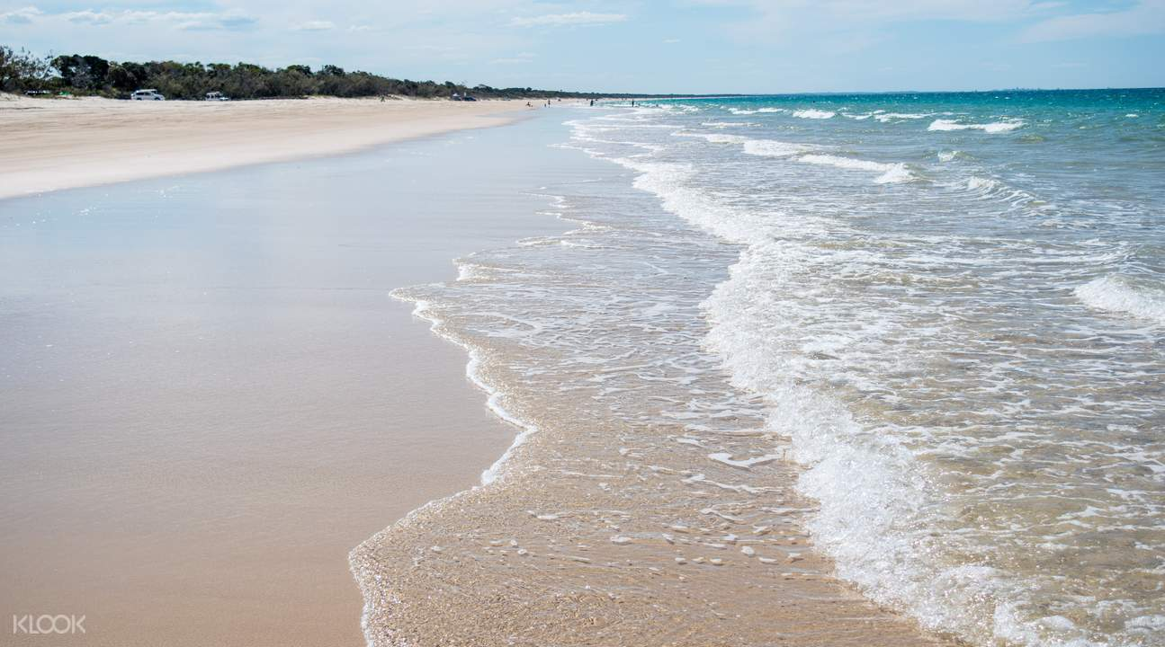 Bribie Island beach
