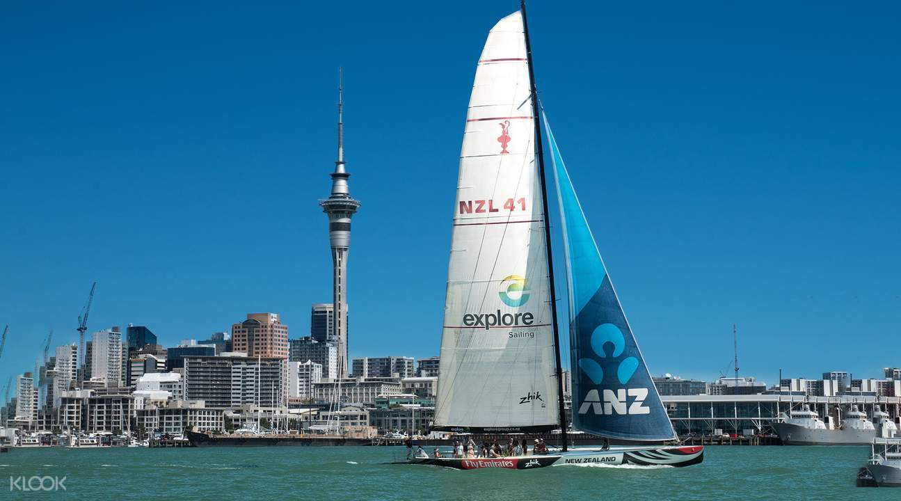 奧克蘭美洲杯帆船駕駛體驗