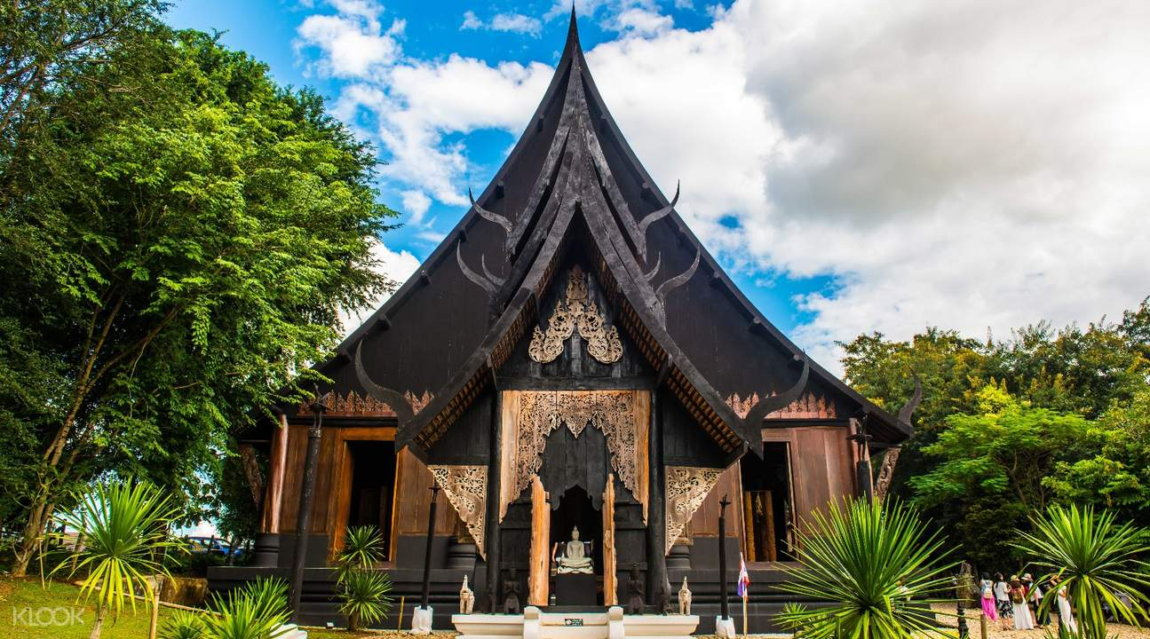 one of the temples in black house chiang rai