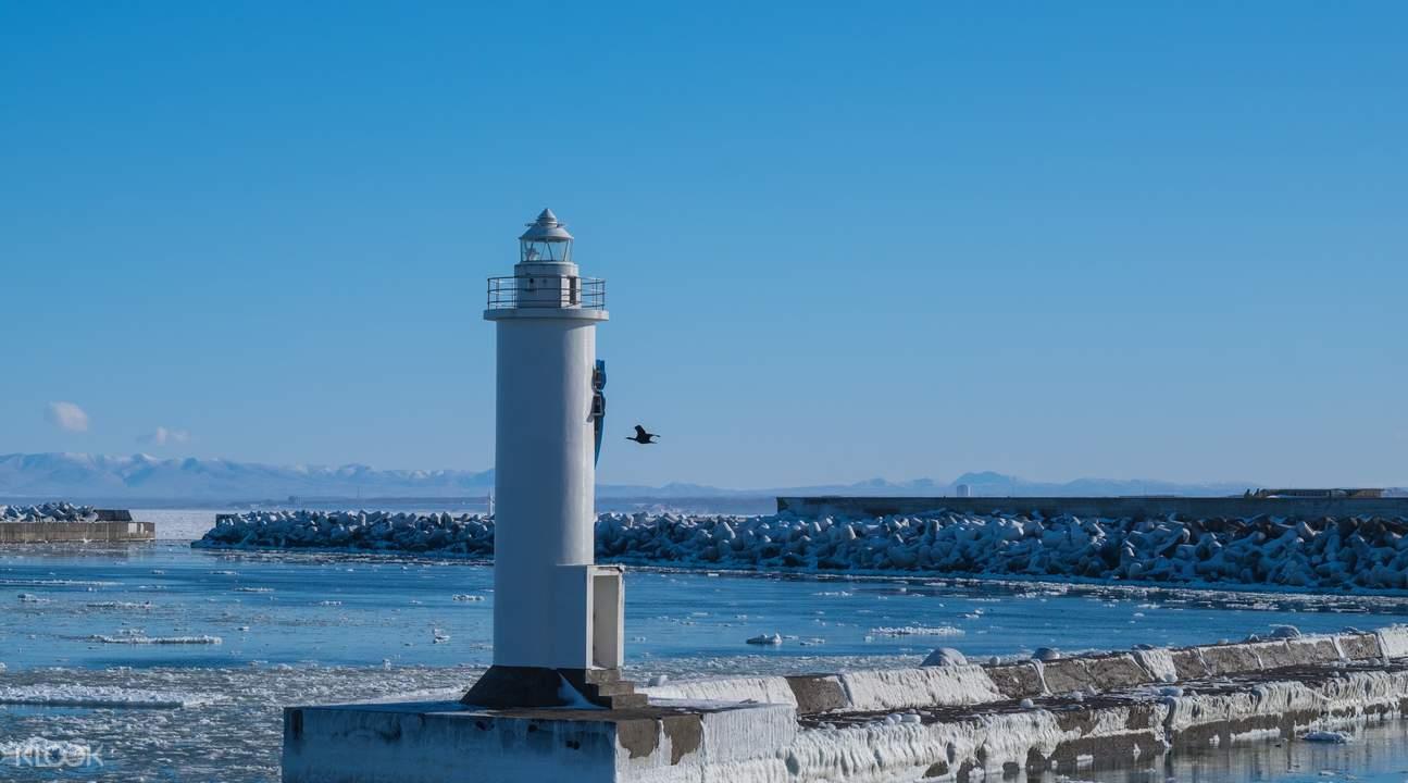日本北海道紋別GARINKO II號觀光破冰船