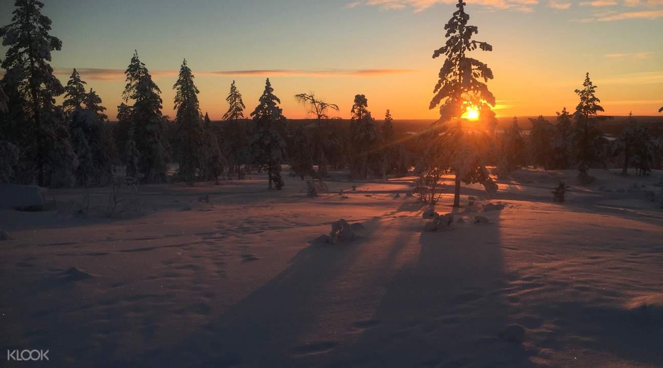 芬兰北极光