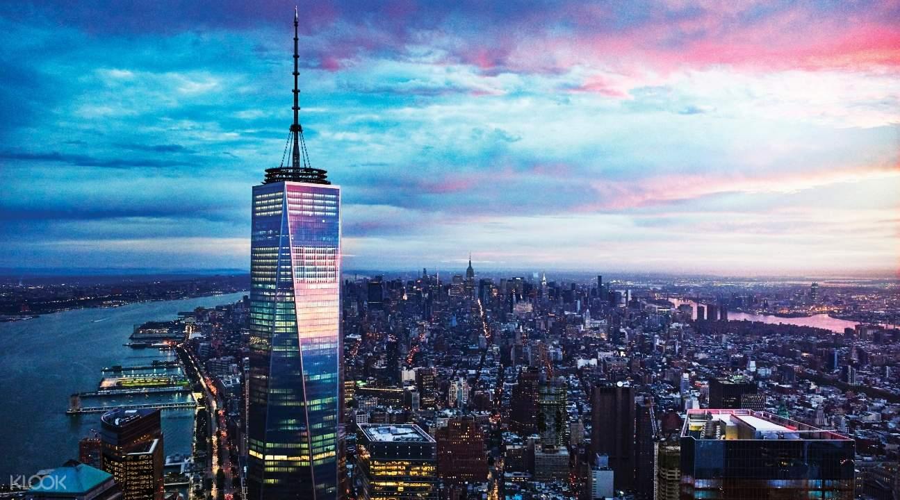 曼哈頓下城24小時隨上隨下觀光巴士 + 觀光船 + 熱門景點套票