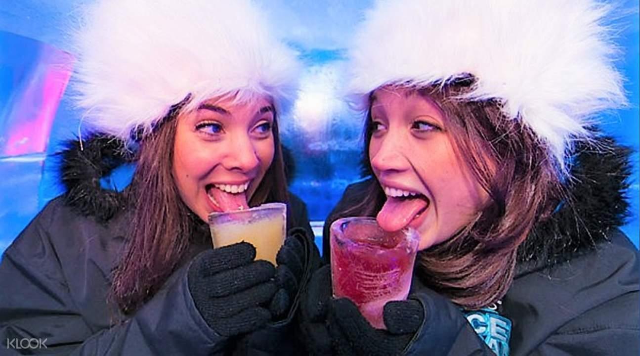 皇后镇零下5度冰吧冰洞饮料