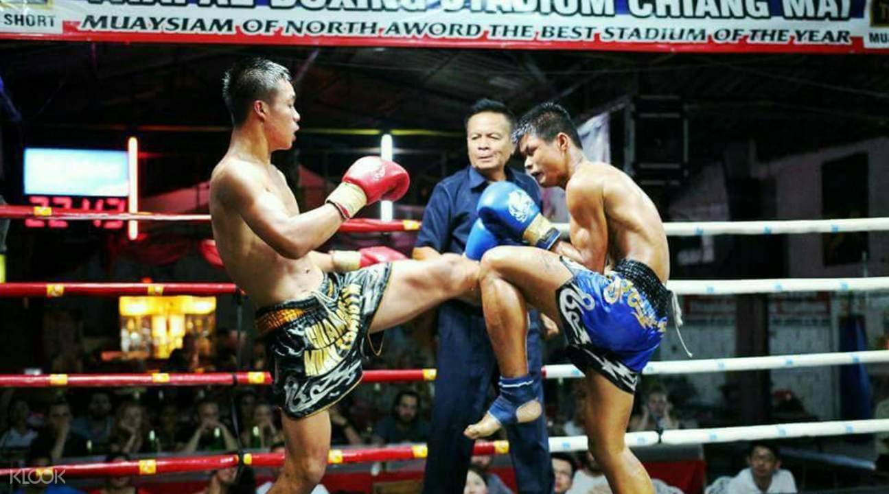 泰国清迈塔佩泰拳比赛门票