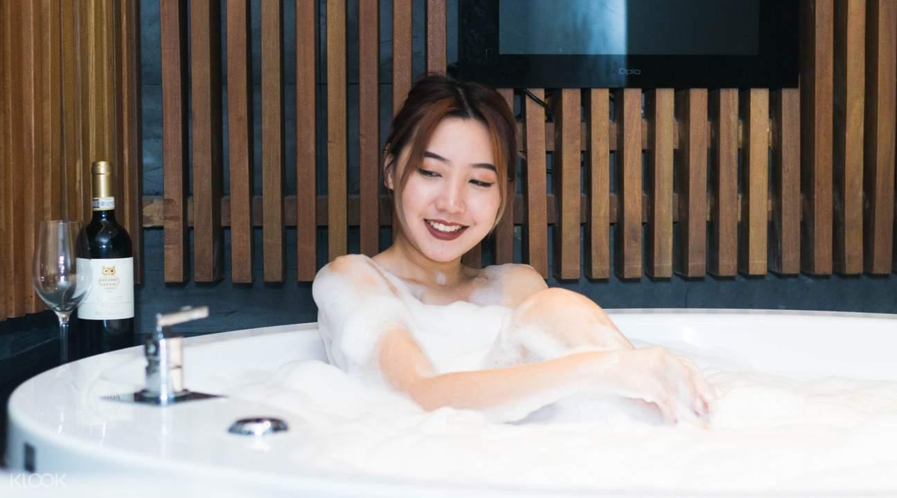 新加坡caribbean spa 皇家复苏浴
