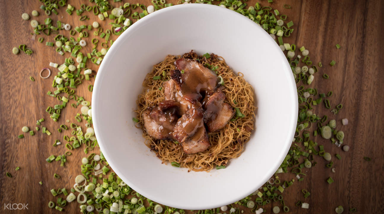 signature char siew noodles one bowl restaurant and bar bugis singapore