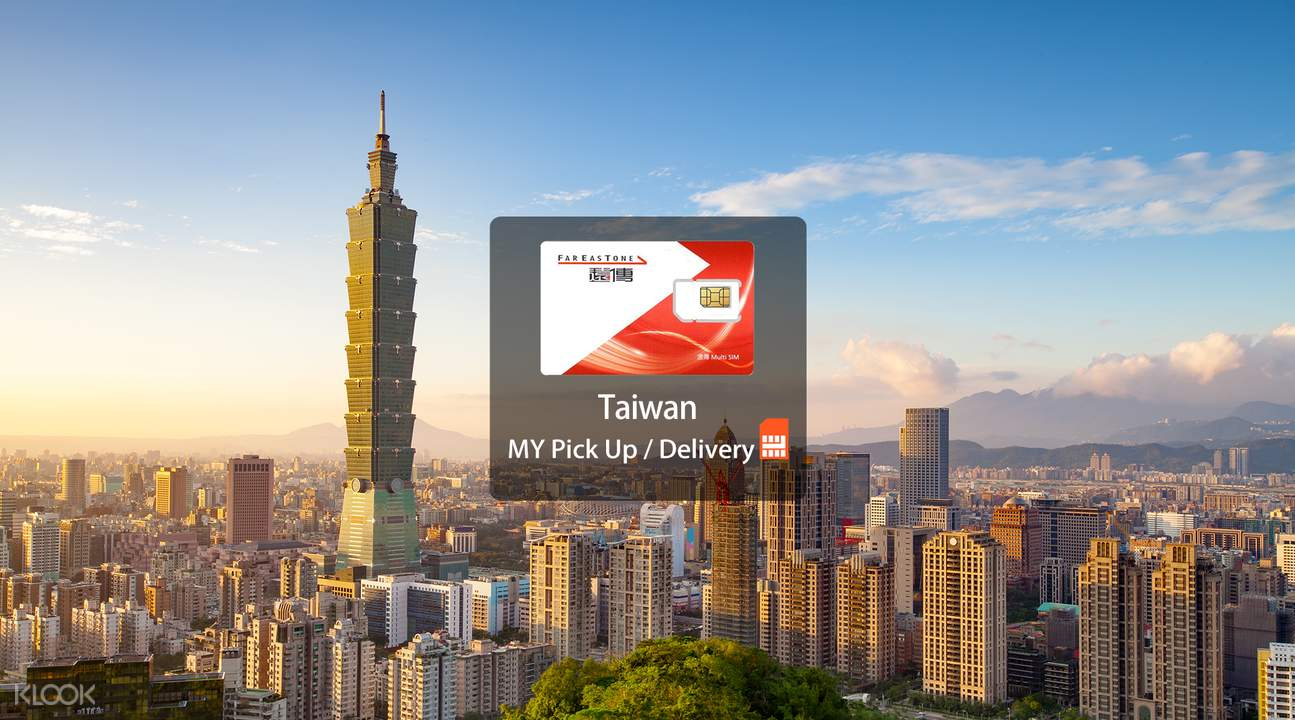 4G+ SIM Card (MY Pick Up/Delivery) for Taiwan