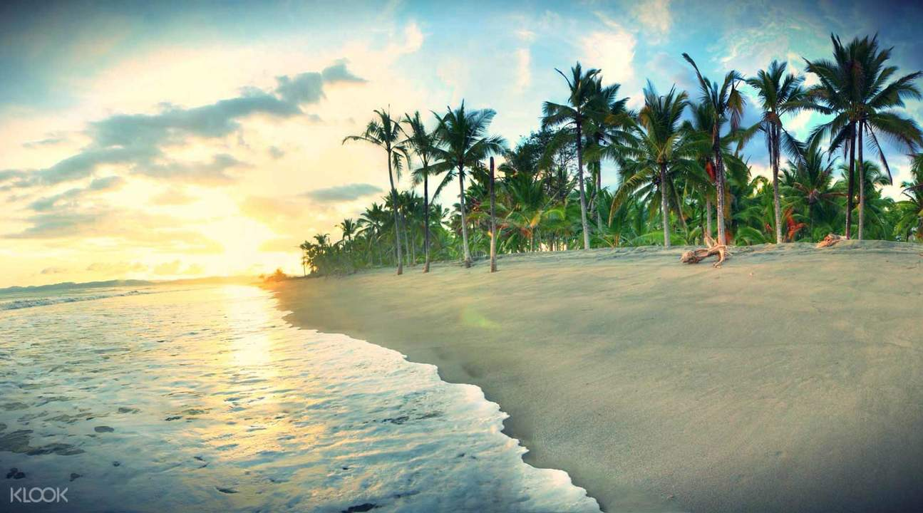 robinson beach during sunset