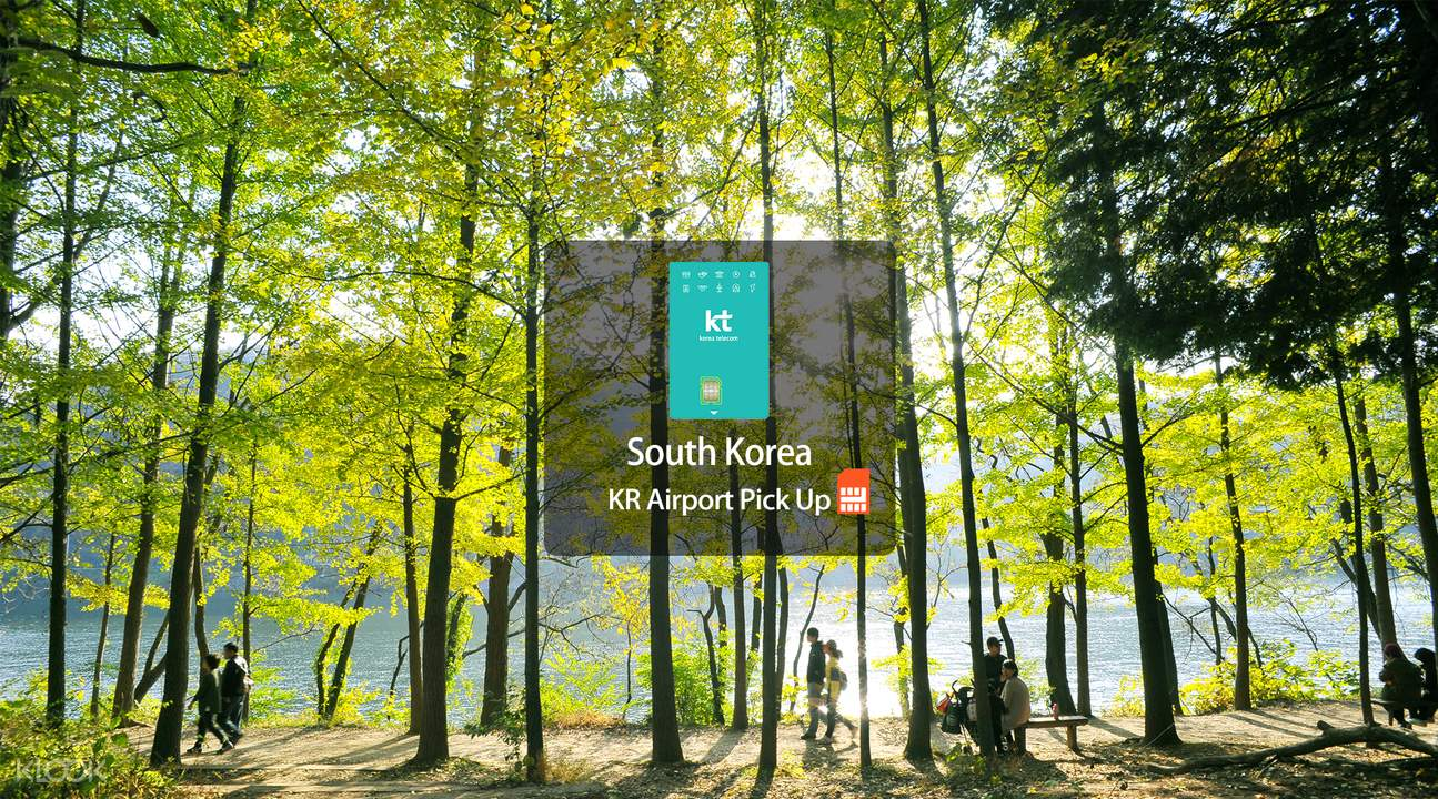 KT 4G SIM card South Korea